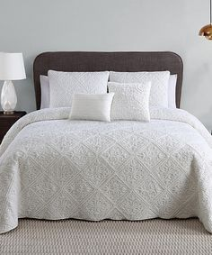 Another great find on #zulily! Ivory Westland Five-Piece Comforter Set by Victoria Classics #zulilyfinds