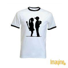 Camiseta Bansky