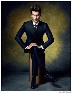 Jon Kortajarena Serves Up Formal Cocktail Suits for How to Spend It December 2014 Photo Shoot image Jon Kortajarena How to Spend It Cocktail Suits December 2014 Photo Shoot 002