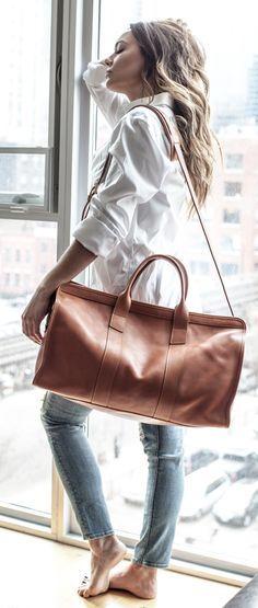 [you_have_broken_the_internet]: Frank Clegg - Travel Duffle Boutique Michael Kors, Michael Kors Outlet, Bag Essentials, Fashion Essentials, Look Fashion, Fashion Outfits, Womens Fashion, Fashion Bags, Looks Style