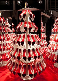 Christian Louboutin ~ Christmas Window Display Paris