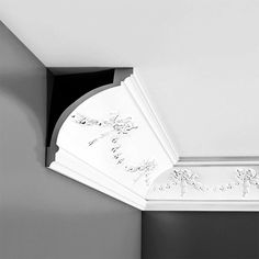 Crown Moulding Foam Crown Molding, Moulding, Flexible Molding, Ceiling Materials, Orac Decor, Traditional Bow, Curved Walls, Moldings And Trim, Polyurethane Foam