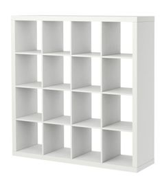 I really really want this Ikea bookcase. Why doesn't Ikea have wedding registries? Ikea Expedit Bookcase, Expedit Regal, Cube Bookcase, Ikea Shelves, Bookcase Storage, Ikea Kallax, Bookcase White, Room Shelves, Shelving Units