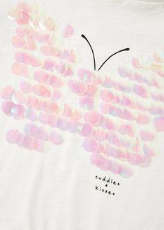 Sequined cotton t-shirtREF. 33000836-BURBUJA-LA din.1,690din.1,190