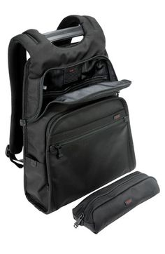 Tumi 'Brief Pack®' Slim Laptop Backpack. One of my FAVORITE backpacks of all time. I have it in Red.