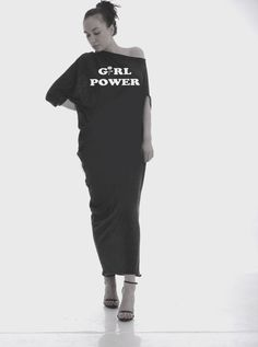 Girl Power Feminism dress GRL POWER Dress by Odd13Boutique on Etsy