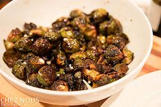Ahhhh Lazy Dog's caramelized brussel sprouts recipe! Best ever! @lawnny @mjmdean