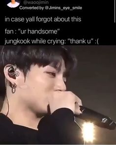 Don't cry 🥺 - Bts jungkook - Jungkook Cute, Kookie Bts, Bts Taehyung, Bts Bangtan Boy, Jung Kook, K Pop, Foto Bts, Bts Photo, Bts Funny Videos