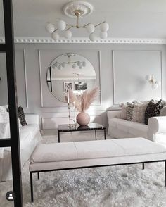Elegant Home Decor, Natural Home Decor, Elegant Homes, Modern Home Interior Design, Interior Design Living Room, Decoration, Decor Styles, House Design, Cozy House