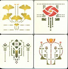 Craftsman Bungalow Stencils | ... in 1992 helen foster stencils specialize in offering stencils