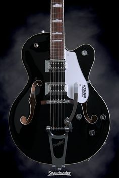 Only at Sweetwater! ✅ Inspection and ✅ Financing for your Gretsch Electromatic Hollowbody Fairlane Blue! John Lennon Guitar, John Lennon Beatles, The Beatles, Zona Musical, Rockabilly Music, Beatle Boots, Gretsch, Ringo Starr, Mandolin