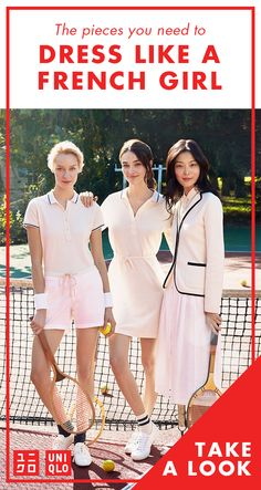 UNIQLO's Chic New Collection Serves Up French Riviera Vibes