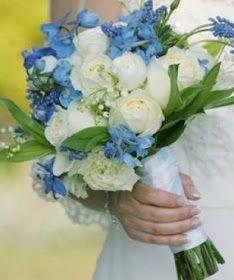 Wedding Flowers: Wedding Flowers Blue