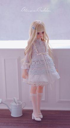 Atomaru Baekdan Pretty Dolls, Cute Dolls, Beautiful Dolls, Lolita Fashion, Fashion Dolls, Fashion Outfits, Baby Clothes Patterns, Clothing Patterns, Kawaii Doll
