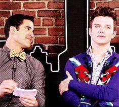 Klaine are soulmates ♥ Chris & Darren are lovers