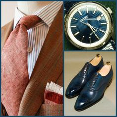 Barbera(Suit)-Seiko(Watch)-Septieme Largeur(Shoes)