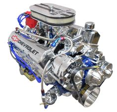 Chevy 350 Small Block with Thee king of small blocks Chevy Duramax, Chevy Silverado, Chevy Trucks, Motor Engine, Car Engine, Chevy 350 Engine, Muscle Cars, Chevy Motors, Crate Engines