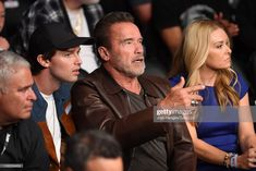 AUGUST Actor Arnold Schwarzenegger is seen in attendance during the UFC 241 event at the Honda Center on August 2019 in Anaheim, California. Anaheim California, August 17, Arnold Schwarzenegger, Attendance, Ufc, Honda, Actors, Actor