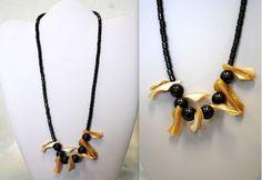 Hematite Handmade Shell Necklace Case Pack 48