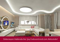 Yatak Odası Dekorasyon Örnekleri - http://www.evdesontrend.com