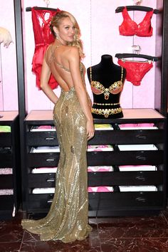 VS Model Candice Swanepoel. All I need is that dress to be happy. And her figure!
