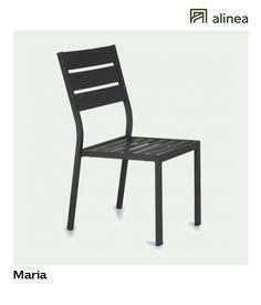 alinea :  maria chaise de jardin empilable noire en aluminium   les sélections alinéa jardin actuel : tables et chaises en métal   - #Alinea #Décoration #Chaise #Jardin #Aluminium #Noir - inspiration meubles et déco