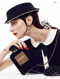 chanel chic3 Marikka Juhler is Chanel Chic for Alvaro Beamud Cortes in Stylist #27
