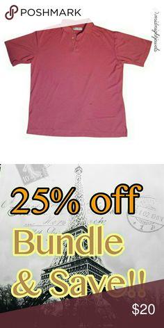 Jamica jaxx men's coral Shirt size Large Jamica jaxx men's coral Shirt size Large polo jamica jaxx Shirts Polos