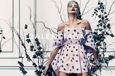 See Daria Werbowy in Balenciaga's Stunning Spring Ad Campaign - The Cut