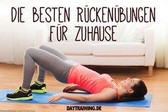 Wir zeigen dir die besten Rückenübungen für Zuhause - für einen starken Rücken ohne Rückenschmerzen.