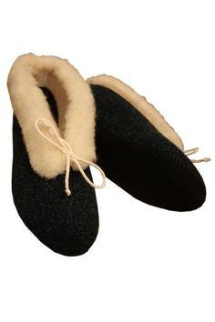 Weri Spezials Damen Wolle Naturlammfell Hausschuhe in Dunkelgruen - http://on-line-kaufen.de/weri-spezials/weri-spezials-damen-wolle-naturlammfell-in