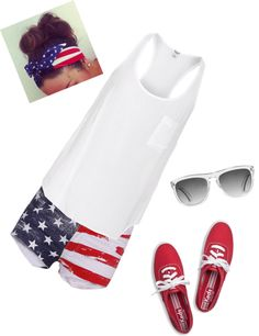 """""""4th of July outfit! :)"""" by jrfuentes on Polyvore"""
