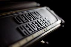 Original #Heidelberg #Letterpress Printing Machine