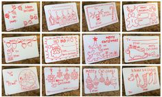 Super cute color-in-gift tags to keep the kids busy while you wrap.