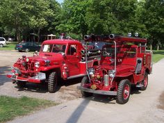 antique firetrucks - Google Search
