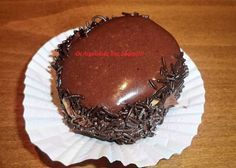 Print Friendly and PDF webpages Greek Sweets, Greek Desserts, Party Desserts, Greek Recipes, Sweet Corner, Boston Cream Pie, Sweets Cake, Mini Cheesecakes, Small Cake