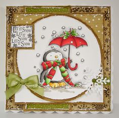 Mrs B's Blog: Lili of the Valley - Snow Flurries