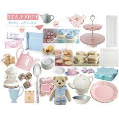 Tea Party Baby Shower idea