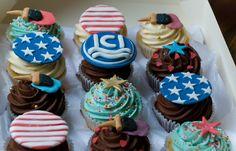 Custom Branded ICI Cupcakes Personalised Cupcakes, Desserts, Food, Tailgate Desserts, Deserts, Custom Cupcakes, Essen, Postres, Meals