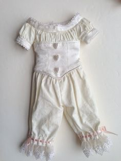 "Period Underwear Made for 14"" Rick Doll Good on Effner Little Darling | eBay"
