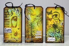 StampingMathilda: Art Journey - 3 Tags