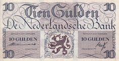 Netherlands 10 Gulden 1945 Lieftincktientje F / FR Replacement Money For Nothing, Money Notes, Coin Design, Old Money, New Year Greetings, Print Magazine, Coin Collecting, Netherlands, Bullet Journal