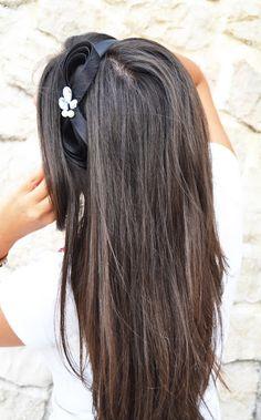 long hair, brunette, cerchietti, gossip girls, www.thefashiondiamonds.com