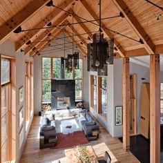 Tahoe Ridge House in Tahoe Donner, California   WA design