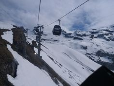 Joyful Cable Ride at Titlis #cablecar #aerial #ropeway