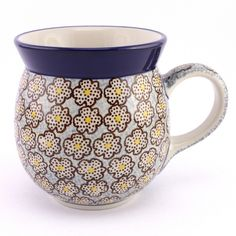 New pattern, new collection of Polish pottery at http://slavicapottery.com :)