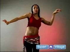 How to Belly Dance : How to Do the Figure-Eight Vertical Move in Belly Dancing
