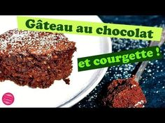 Recette vegan de gâteau au chocolat sans beurre et à la courgette ! Un gâteau moelleux et léger, fondant, dans lequel le goût de la courgette est insoupçonnable.