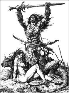 Conan, art by Brocal Remohi