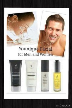 Younique's skincare line is great for women and men. Amazing for sensitive skin!